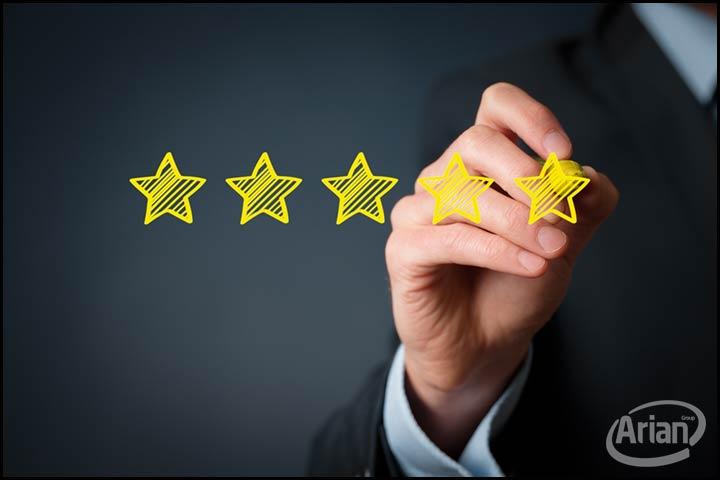 رضایت مندی مشتری | آرین سیستم