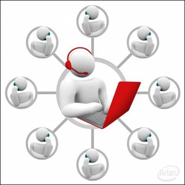 مدیریت ارتباط با مشتری آرین سیستم