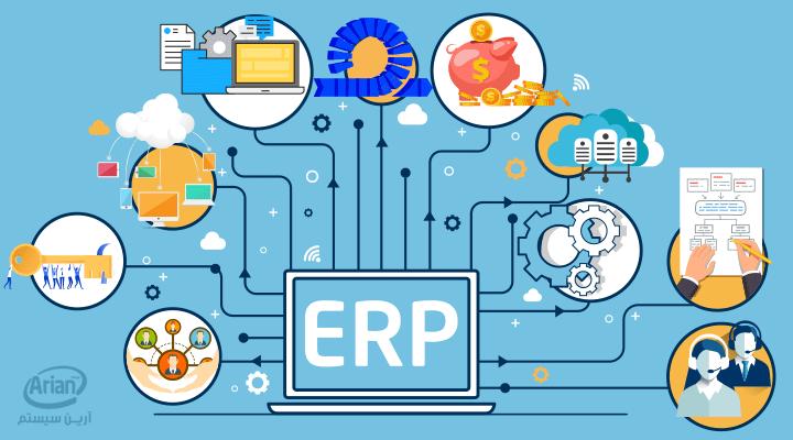 سیستم ERP   آرین سیستم